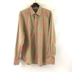 Robert Graham Long Sleeve Shirt Embroidered 2XL